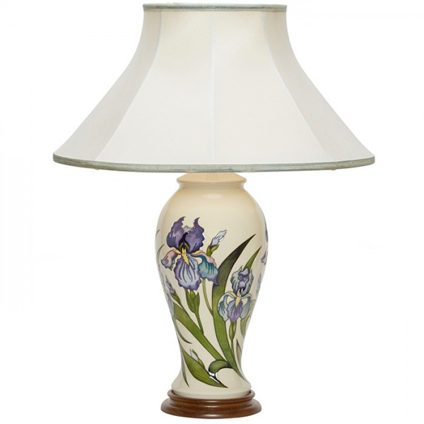 Bearded Iris - Lamp and Shade