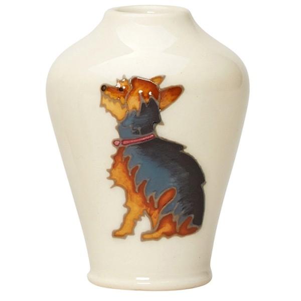 Yorkshire Terrier - Vase