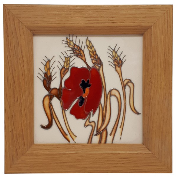 Harvest Poppy - Plaque