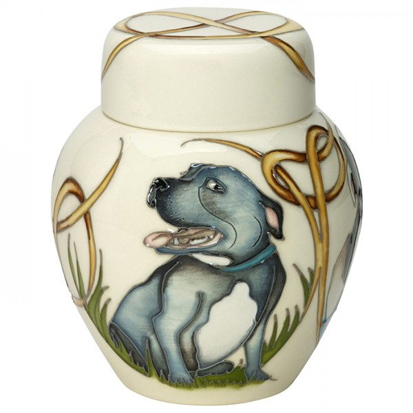 Happy Staffies - Ginger Jar