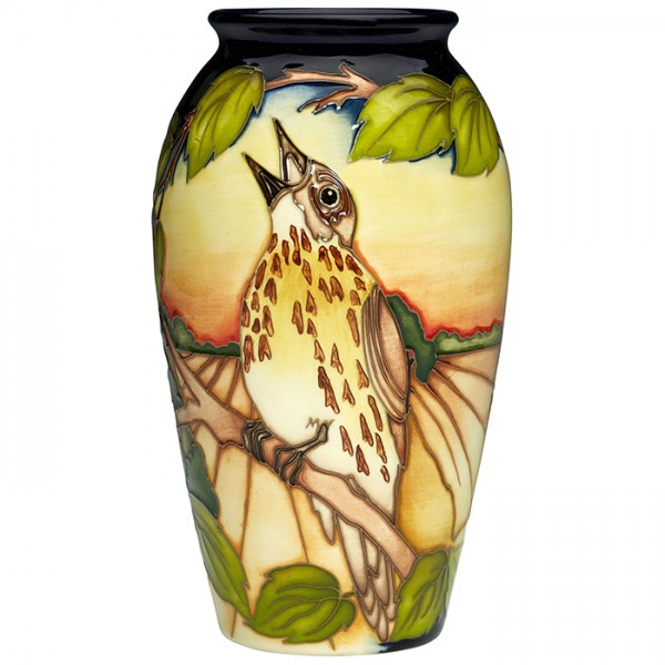 song thrush seranade - Vase
