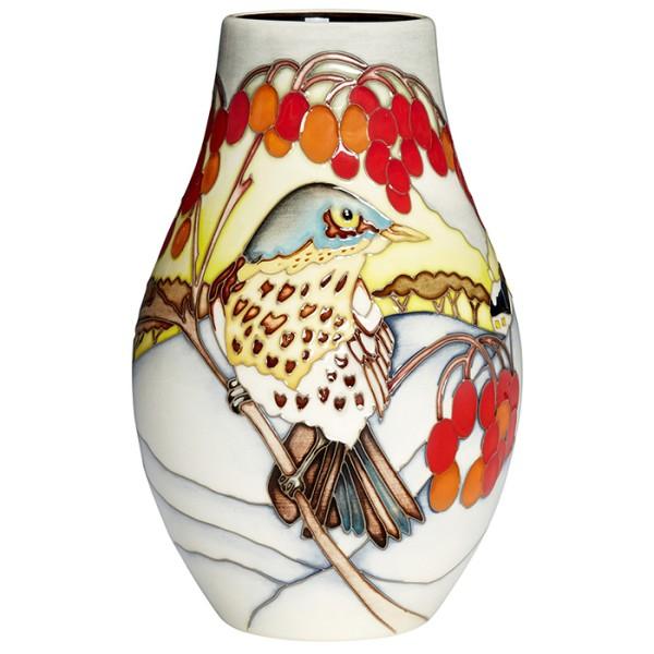 Winter Visitor - Vase
