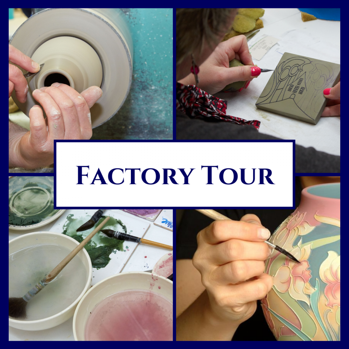 Factory Tour Booking