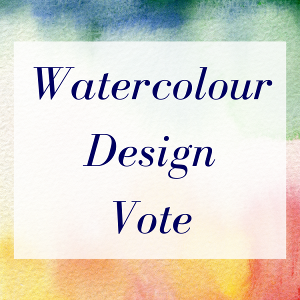 Watercolour Design Vote