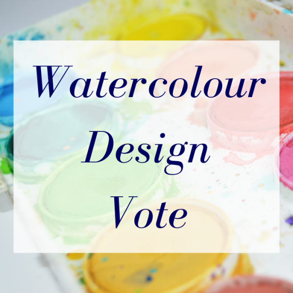 Watercolour Design Vote 3